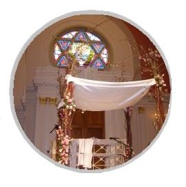 חופה וקידושין | בית כנסת כורש בירושלים